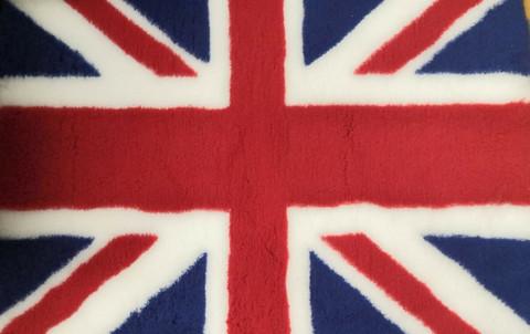 Vetbed Pinkki UK flag 100x80cm