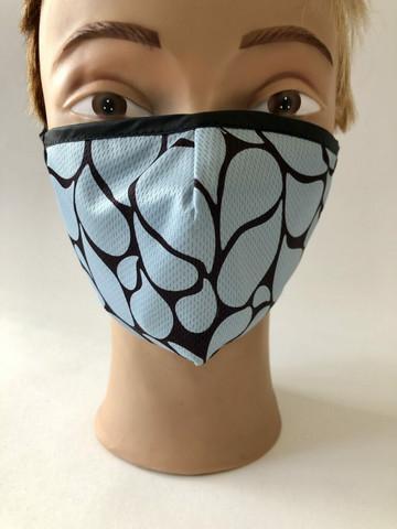 Mask Drop Blue
