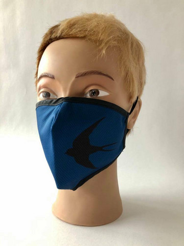 Mask Swallow Blue