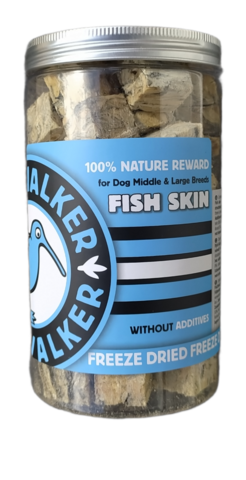 Kiwi Walker snack pakastekuivattu kalannahka 135g