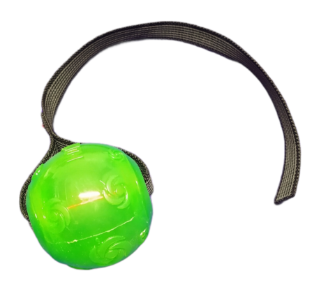 Squeez ball with grip L