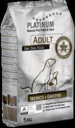 Platinum Adult Iberico  Greens  15kg