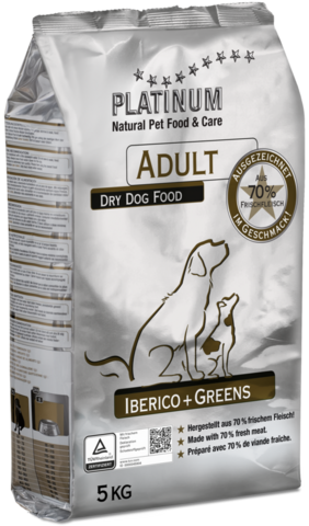 Platinum Adult Iberico  Greens  15kg