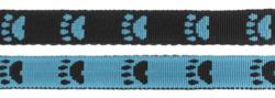 Paw leash Blue/Black 20mm