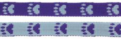 Paw leash Lilac/Blue