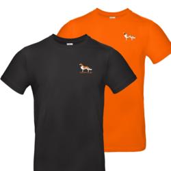 Mens t-shirt kooikerhondje