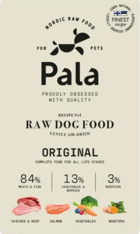 Resepti # 1 – Kaikenikäisille koirille - 1 kg