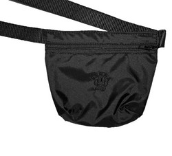 Treat bag with velcro strip