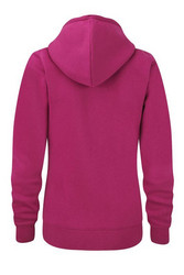 Women´s Premium AUTHENTIC Full Zip Hooded Fuchsia