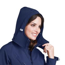 Ladies` Hooded Softshell Jacket Black