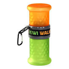Kiwi Walker Travel Bottle 2in1 Orange/Green