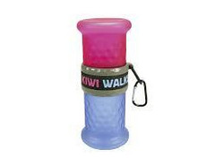 Kiwi Walker Travel Bottle 2in1 Pinkki/Sininen