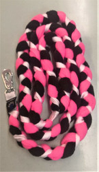 Fleecetalutin 160cm BGB Pinkki - Musta - Valkoinen