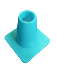 Weighted 15 cm marker cone, Turquoise
