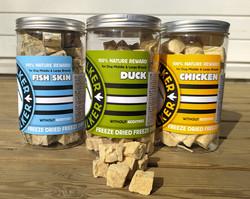 Kiwi Walker snack pakastekuivattu ankka 135g
