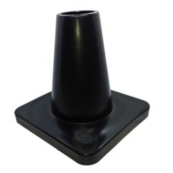 Merkkikartio 15cm painolla, Musta
