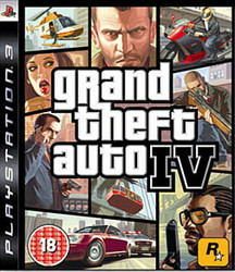 Grand Theft Auto (GTA) IV (PS3)