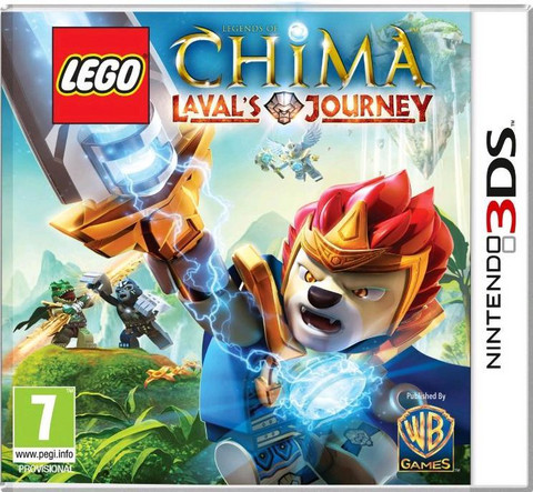 Lego Chima Laval`s Journey 3DS