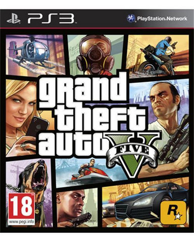 Grand Theft Auto (GTA) V (PS3)