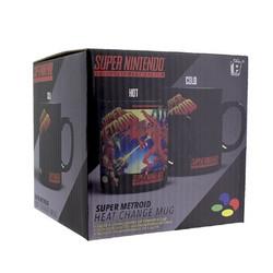 Väriä vaihtava muki Super Metroid