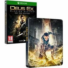 Deus Ex Mankind Divided Day One Steelbook Edition (Xbox One)