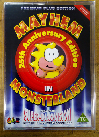 Mayhem in Monsterland 25th Anniversary Edition (C64)