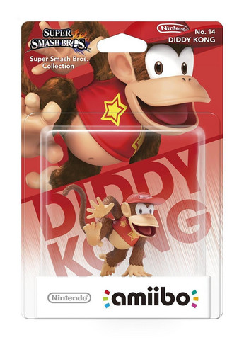 Diddy Kong amiibo Super Smash Bros. Collection