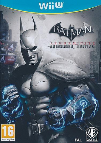 Batman Arkham City Armoured Edition UUSI (Wii U)