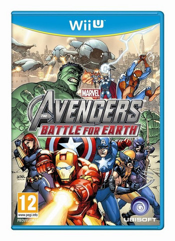 Avengers Battle for Earth UUSI (Wii U)