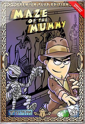 Maze of the Mummy (C64 Premium+ disk)