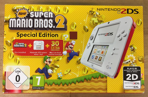 Nintendo 2DS New SMB2 Special Edition -konsoli