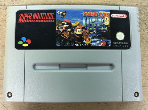 Donkey Kong Country 3 (SNES PAL)