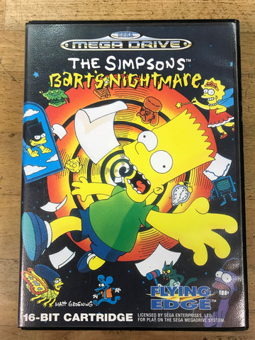 The Simpsons: Bart's Nightmare (MD)