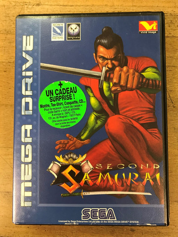 Second Samurai (MD)