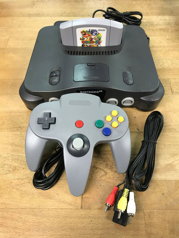 Nintendo 64 (JAP) + Mario Party