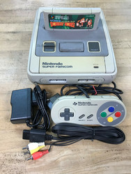 Super Famicom (JAP) + Super Donkey Kong