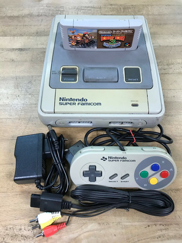 Super Famicom (JAP) + Super Donkey Kong 3