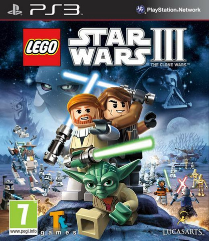 Lego Star Wars 3: The Clone Wars (PS3)