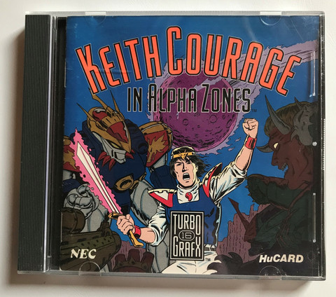 Keith Courage (TG16 HuCARD)