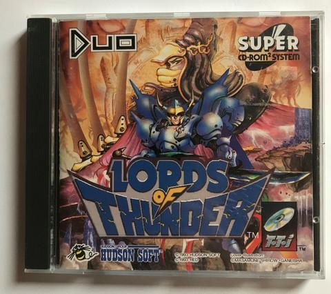 Lords of Thunder (TG16 CD)