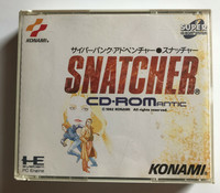 Snatcher CD ROMantic (PCE CD)
