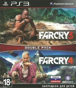 Far Cry 3 & 4 Double Pack (PS3)