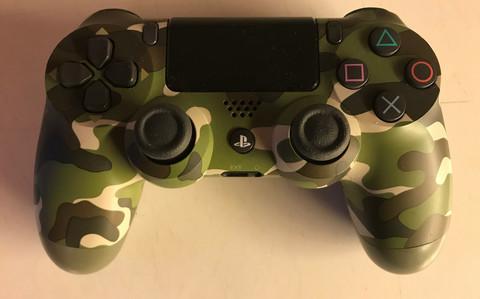 Dual Shock 4 -ohjain Green Camo