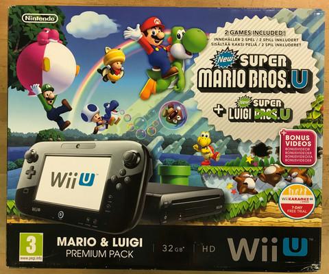 Wii U Premium Mario & Luigi Pack 32Gb