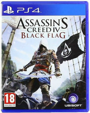 Assassin's Creed Black Flag (PS4)