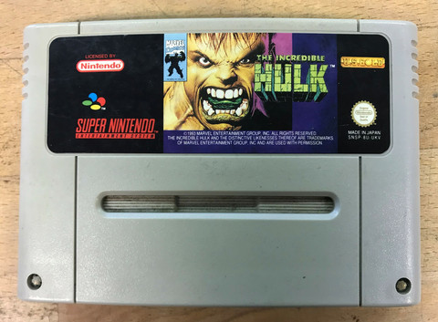 The Incredible Hulk (SNES loose)