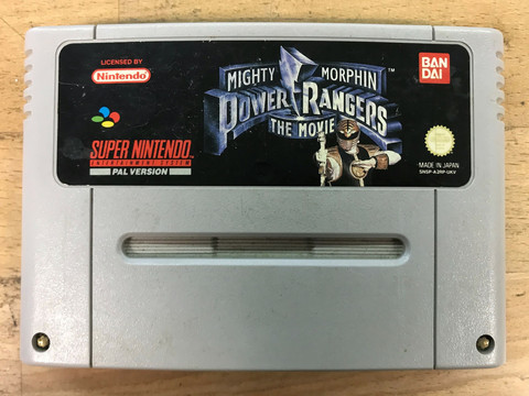 Power Rangers The Movie (SNES loose)