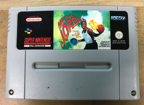 Michael Jordan (SNES loose)