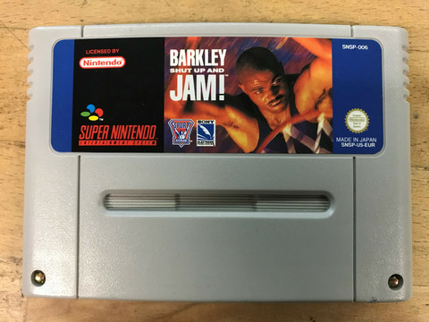 Barkley Shut Up And Jam! (SNES loose)