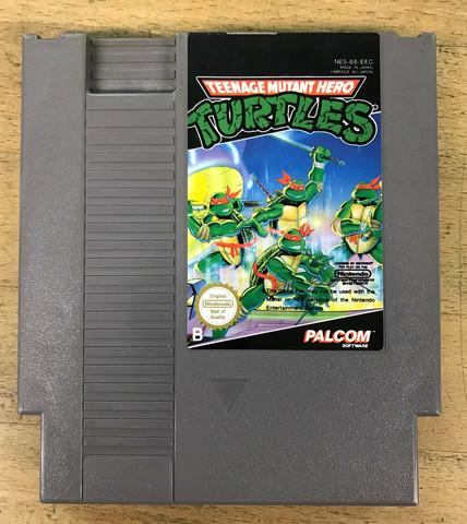 Teenage Mutant Hero Turtles (NES loose)